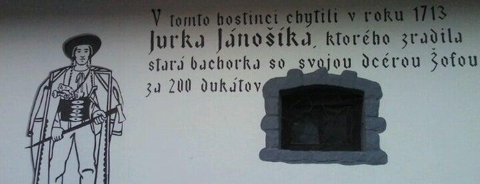 Jánošíkova krčma is one of Zuzana : понравившиеся места.