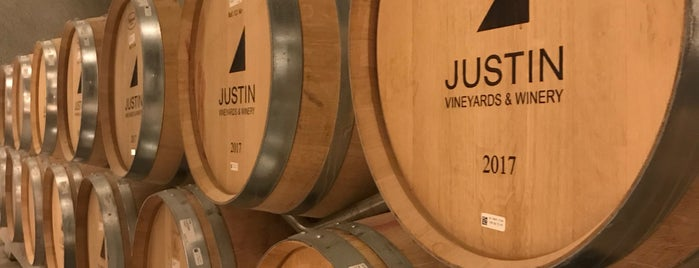 Justin Vineyards & Winery is one of Central Coast.