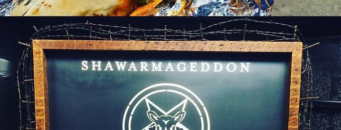Shawarmageddon is one of Tempat yang Disukai Vihang.