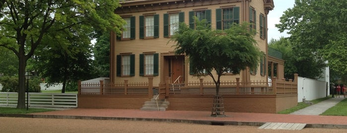 Lincoln Home National Historic Site is one of Historic Route 66.