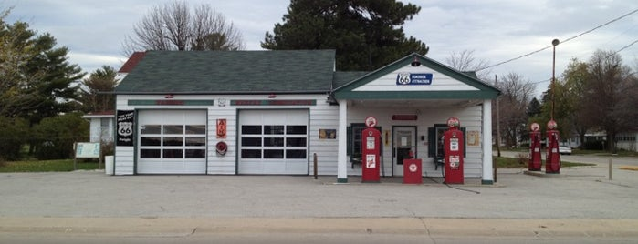 Ambler's Texaco Gas Station is one of Historic Route 66.