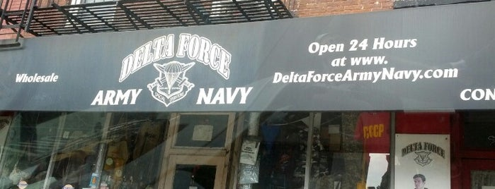 Delta Force Army Navy Surplus is one of Shopping.