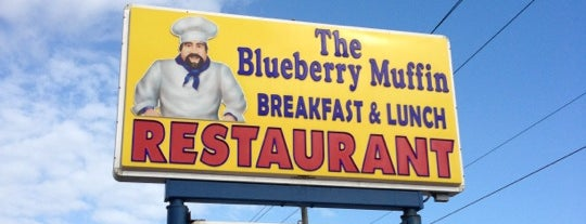 Blueberry Muffin Restaurant is one of Lugares favoritos de Annette.
