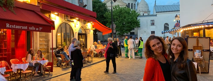 Montmartre Village is one of PARIS - food/shops.