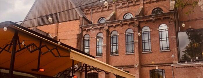 PARK Cafe-Restaurant is one of Z☼nnige terrassen in Amsterdam❌❌❌.