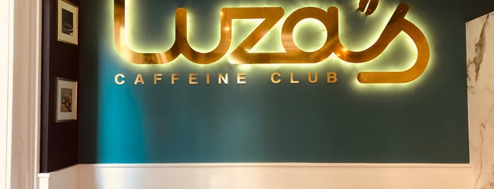 Luza's Caffeine Club is one of Amsterdam.
