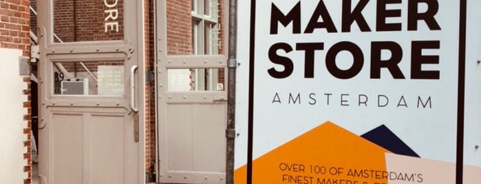 The Makerstore is one of Amsterdam Favorites.