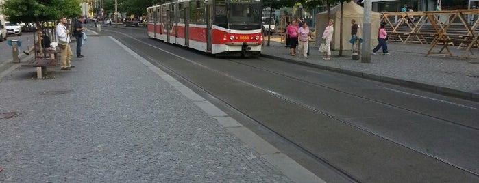 Anděl (tram) is one of Praha..