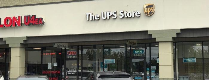 The UPS Store is one of Orte, die Jennifer gefallen.