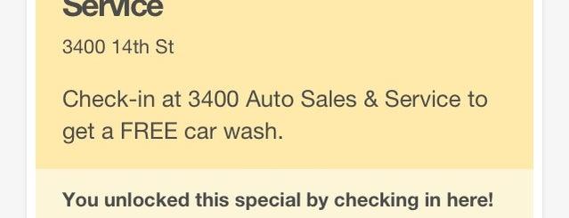 3400 Auto Sales & Service is one of Lugares favoritos de Albert.