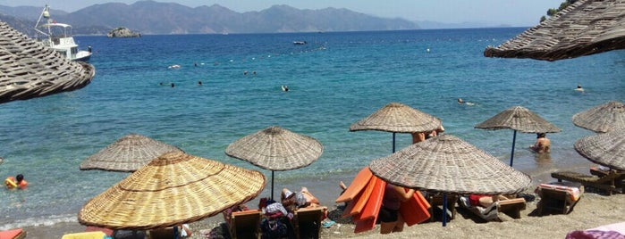 Amos Beach is one of Marmaris.
