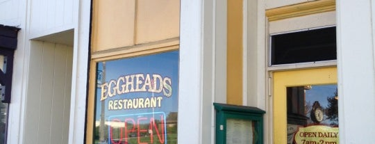 Eggheads Restaurant is one of Guerneville Ft Bragg trip.