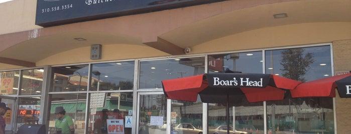 Gentleman's Butchershop and Delicatessen is one of West LA (Eats).