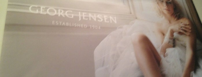 Georg Jensen is one of M world.