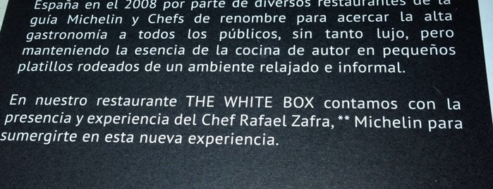 The white box is one of Cancun.