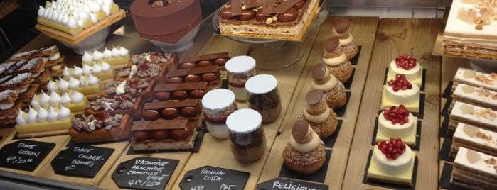 Patisserie Rhubarbe is one of Locais salvos de Ozge.