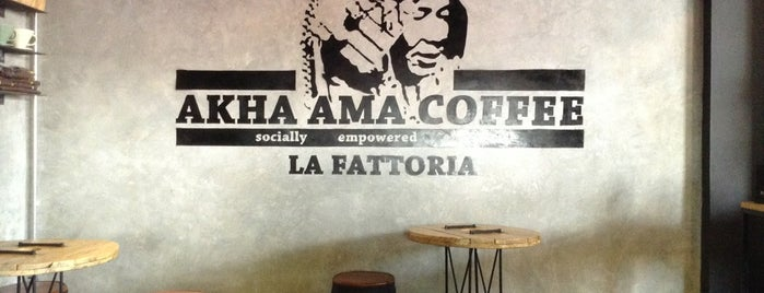 Akha Ama Coffee La Fattoria is one of Masahiro : понравившиеся места.