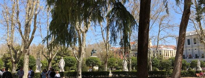 Estatua Del Rey Vvamba is one of Madrid estatuas.