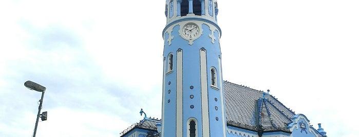 Kostol sv. Alžbety (Modrý kostolík) is one of Bratislava.