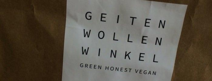 Geiten Wollen Winkel is one of Amsterdam.