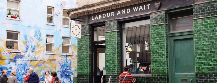 Labour and Wait is one of Almost Locals em Londres.