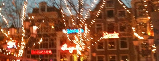 Leidseplein is one of Hup Hup Holland.