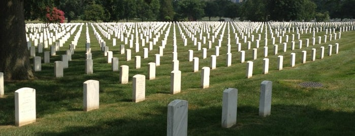 Arlington National Cemetery is one of DC Metro.