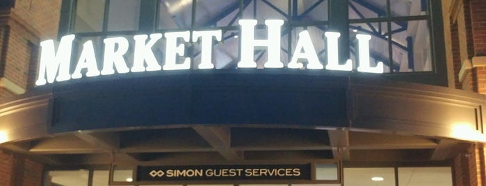 Market Hall is one of Locais curtidos por Lillian.