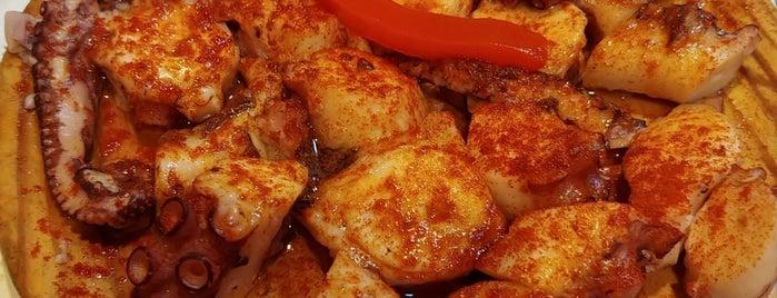 Pintxo y Tapas is one of favorite restaurants.