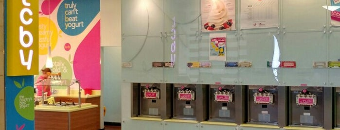 TCBY is one of Paramus area.