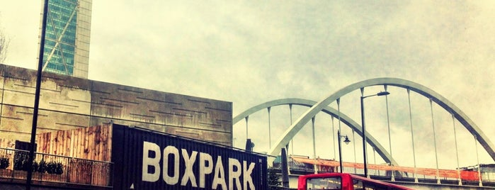 BOXPARK Shoreditch is one of London Favourites.