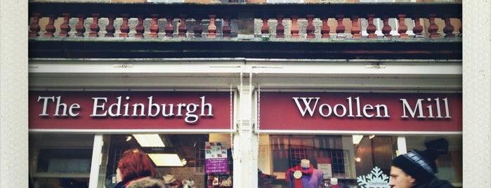 The Edinburgh Woollen Mill is one of Scotland.