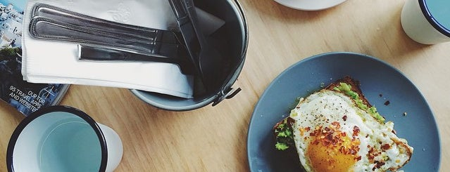 Two Hands is one of Brunch + Breakfast Spots.