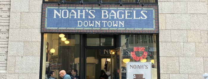 Noah's New York Bagels is one of Restaurants.