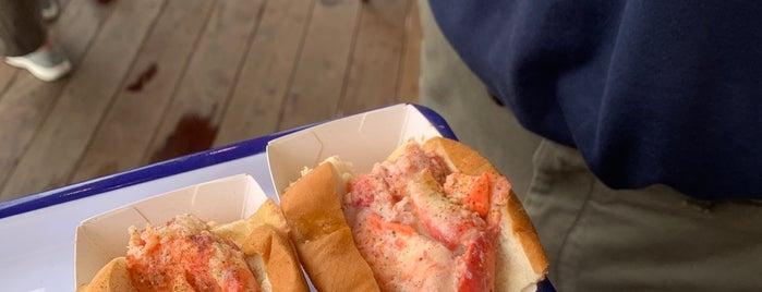 Luke's Lobster is one of Portland.
