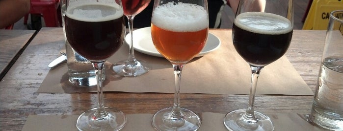 Birreria at Eataly is one of The Best Biergartens in New York.
