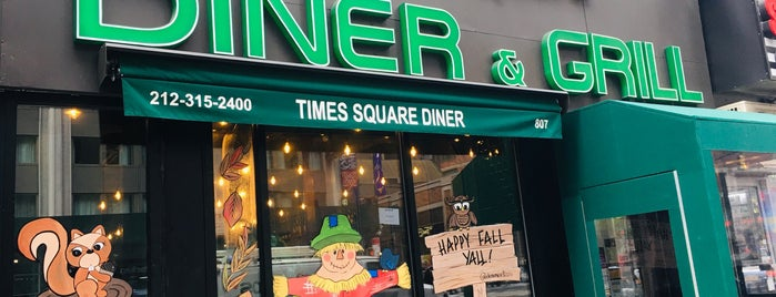 Times Square Diner is one of New York.