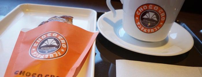 St. Marc Café is one of Lieux qui ont plu à Masahiro.