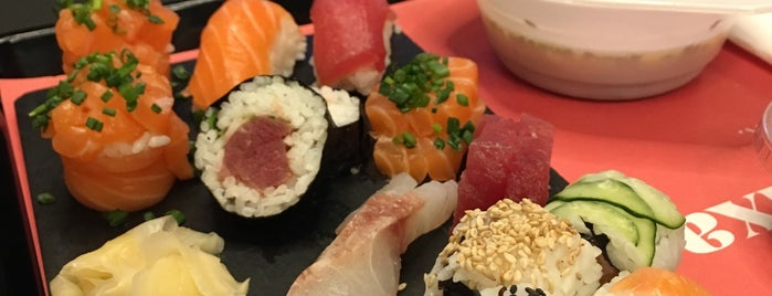 Sushi no Mercado is one of Restaurantes.