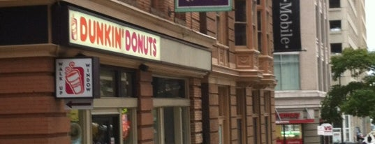 Dunkin' is one of Baltimore.