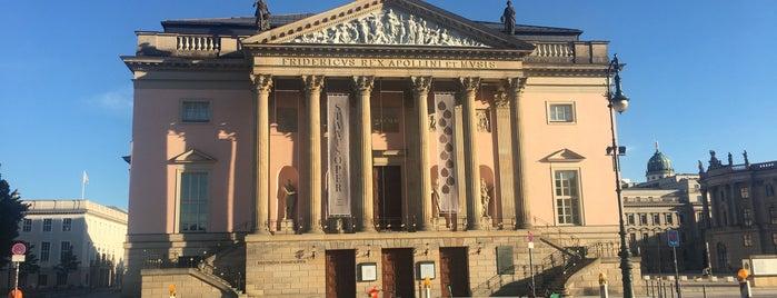 Staatsoper Unter den Linden is one of Berlin.