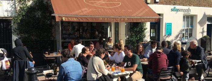 Gianluca's is one of London : Coffee & Breakfast.