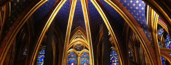 Sainte-Chapelle is one of Centre des monuments nationaux.