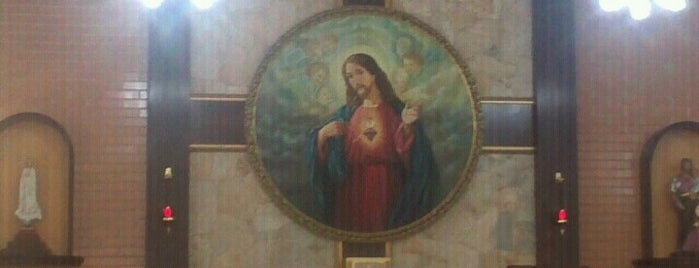 Paróquia do Sagrado Coração de Jesus is one of Bons lugares.