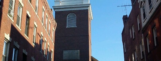 The Old North Church is one of They Came to Boston.