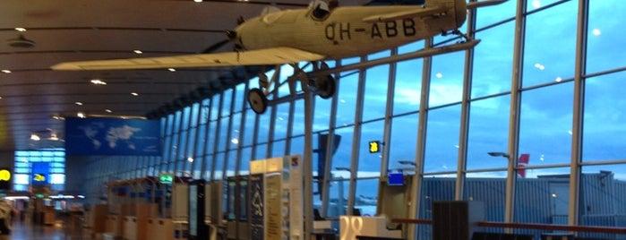 Helsinki Airport (HEL) is one of Wanderlust.