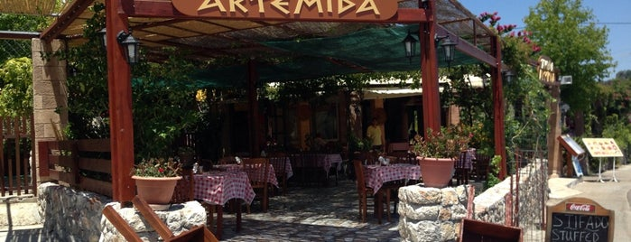 Artemida is one of rodos.