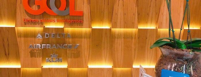 GOL Premium Lounge is one of Orte, die Vanessa gefallen.