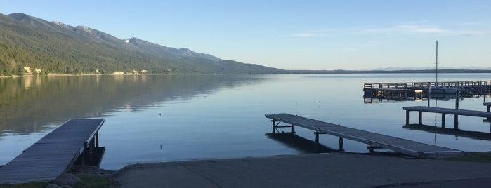 Blue Bay, Flathead Lake is one of Nina : понравившиеся места.