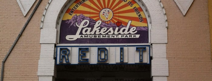 Lakeside Amusement Park is one of Denver.
